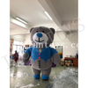 Outdoor Activity Inflatable Bear Cartoon / Teddy Bear Costumes / Inflatable Plush Bear Model for Promotion