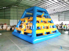 Aqua Park Equipment Inflatable Water Slide / Floating Slide / Pyramid Ladder Climbing Wall for Water Play