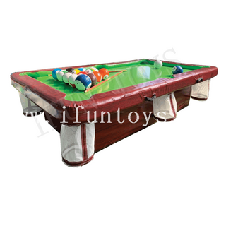 Portable Inflatable Pool Table / Billiard Table / Snooker Pool Table