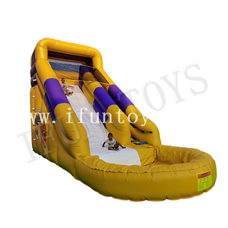 Tom And Jerry Theme Inflatable Water Slide with Pool / Playground Slide for Kids