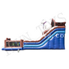Inflatable Polar Bear Bouncy Slide / Fun City Inflatable Playground Amusement Park for Kids