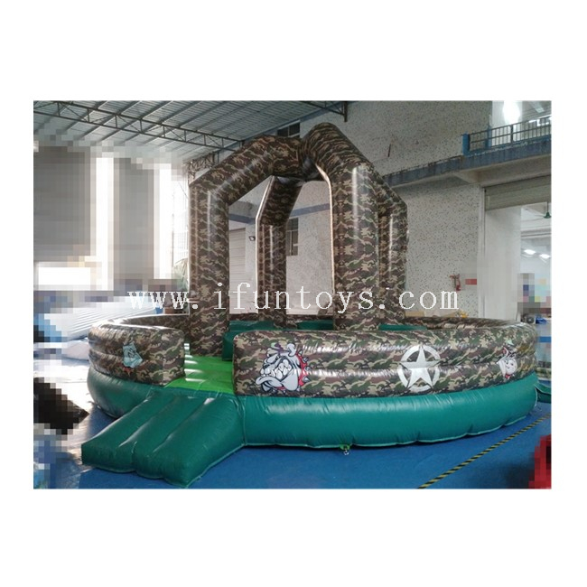 Interactive Inflatable Wrecking Ball / Demolition Ball Game / Inflatable Wipe Out Game for Sale