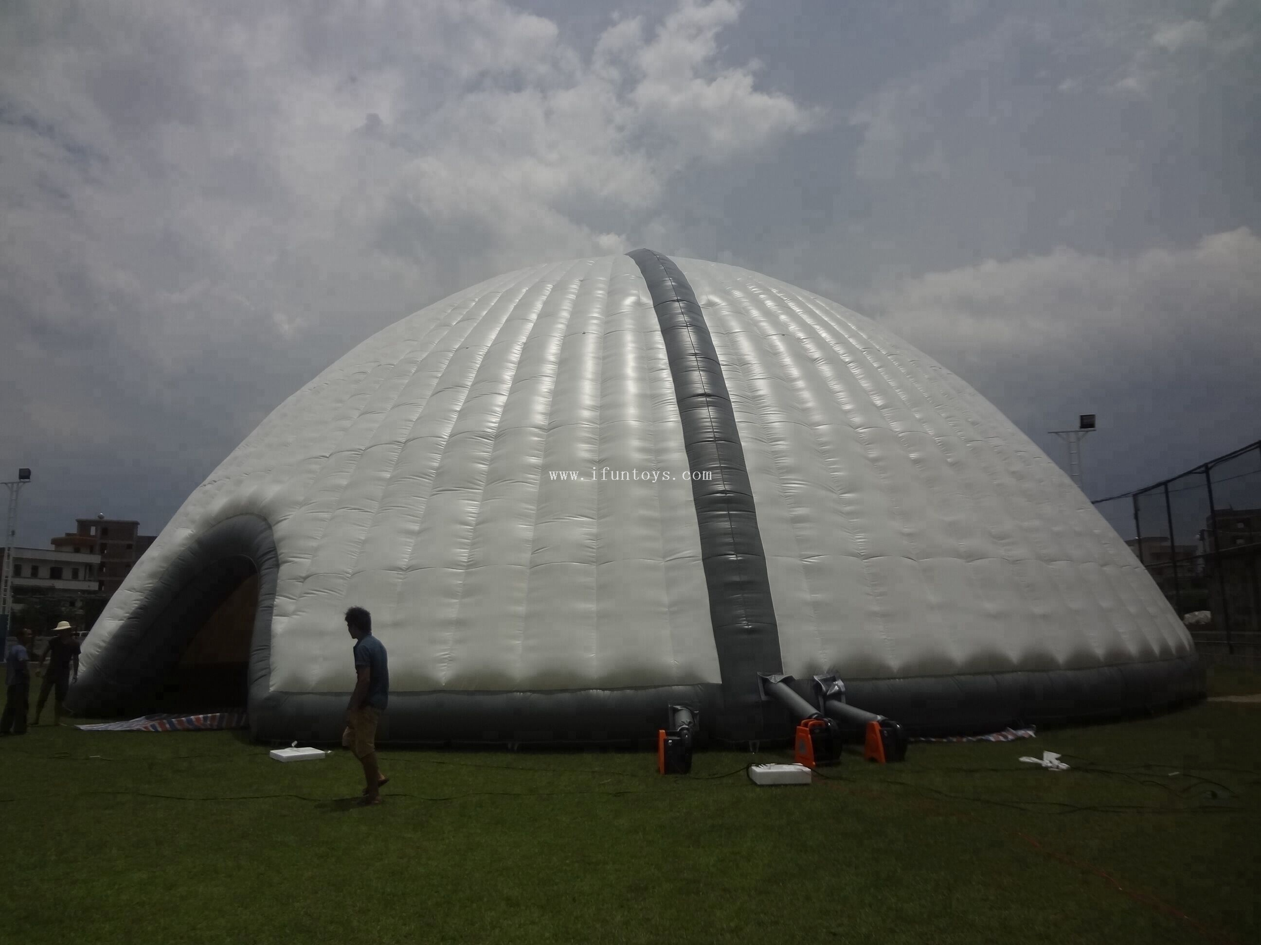 Giant Inflatable Dome Tent / Inflatable Dome Building Tent for Wedding / Inflatable Marquee Tent for Outdoor Party