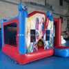 inflatable bounce house with slide/inflatable spider man jumping bouncy castle combo for rental