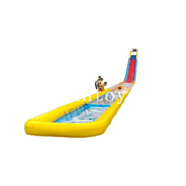 Inflatable Wet Slip N Slide / Waterslide Park for Kids