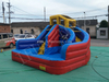 Inflatable Backyard Water Park / Water Slide Combo with Air Blower for Kids