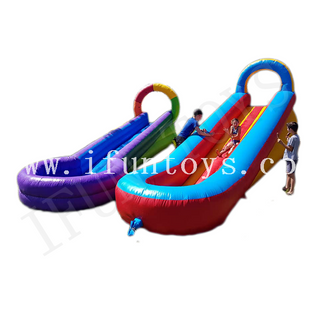 Inflatable Small Pool Water Slide / Slip N Slide for Kids