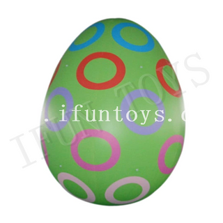 Giant Inflatable Easter Egg / Inflatable Tumbler Egg for Easter Decoration