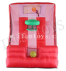 4 in 1 Inflatable Carnival Game Inflatable Ring Toss / Inflatable Basketball Hoop Shooting Game with Air Blower