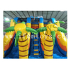Tropical Palm Tree Inflatable Dry Slide / Inflatable Beach Slide / Inflatable Water Slide Bouncer for Kids