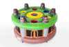 Funny inflatable interactive games human Whack A Mole beat hamster game for kids and adults
