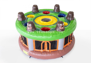 New generation amazing inflatable whack a mole game/human whack a mole/whack a mole game machine