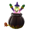 2m Tall LED Lighting Inflatable Ghost with Auto Up And Down for Halloween Decoration