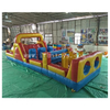 Inflatable Obstacle Course with Climb Slide / Obstacle Inflatable Game / Inflatable Obstacle for Playground