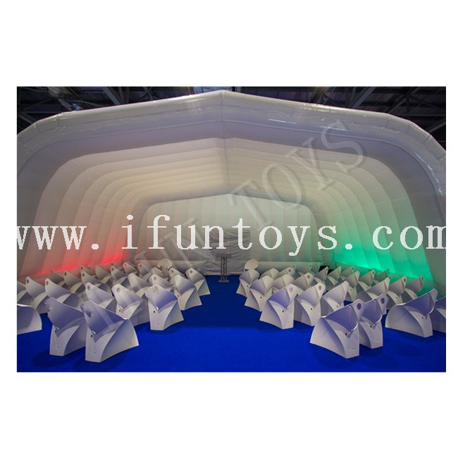 Inflatable Air Roof Stage Cover Tent for Event / Concert