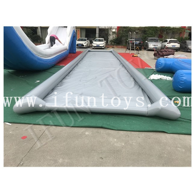Outdoor Portable Inflatable Skimboarding Pool / Mobile Skimpools / Inflatable Pool for Skimboard Games
