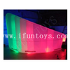 LED Inflatable Wall Partition Room Divider Office Pod / Inflatable Offices Wall Meeting Room