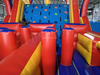 Adult Inflatable Obstacle Course Running Race / Obstacle Playground for Sale