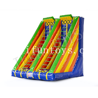 Interactive Inflatable Twister Ladder / Jacob Ladder Climbing Challenge Game