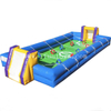 Cheap mobile inflatable human table soccer foosball games for team building
