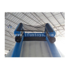 Giant Inflatable Water Slide with Rock Climbing Iceberg for Floating Water Park Games