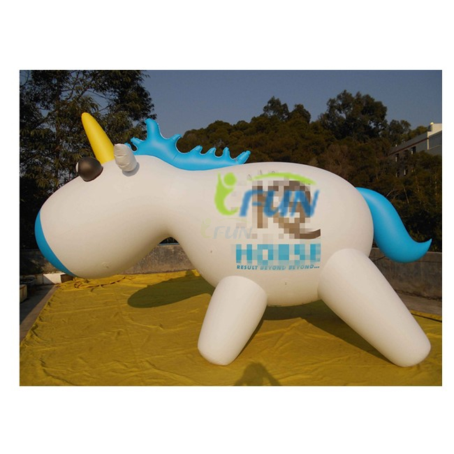 Giant Inflatable Flying Unicorn/Advertising Inflatable Helium Unicorn Balloon/Inflatable Parade Unicorn Balloon for Promotion
