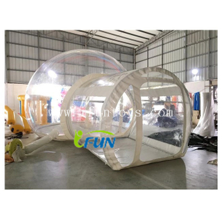 Transparent Inflatable Bubble Tent for Camping / Outdoor Inflatable Bubble Hotel Tent / Inflatable Bubble Tent with Steel Frame