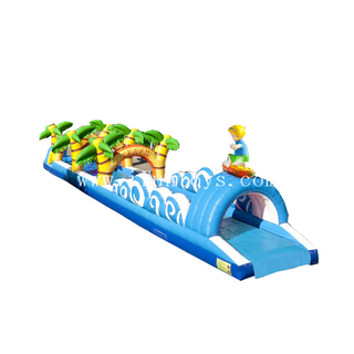 New design inflatable slip n slide / inflatable beach belly slide /inflatable water slide the city for water game