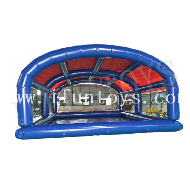 Inflatable Water Pool with Tent Roof / Swimming Pool with Cover