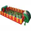 Wholesale Giant life-size 12 players team building inflatable baby foot human foosball table soccer field party games for sale