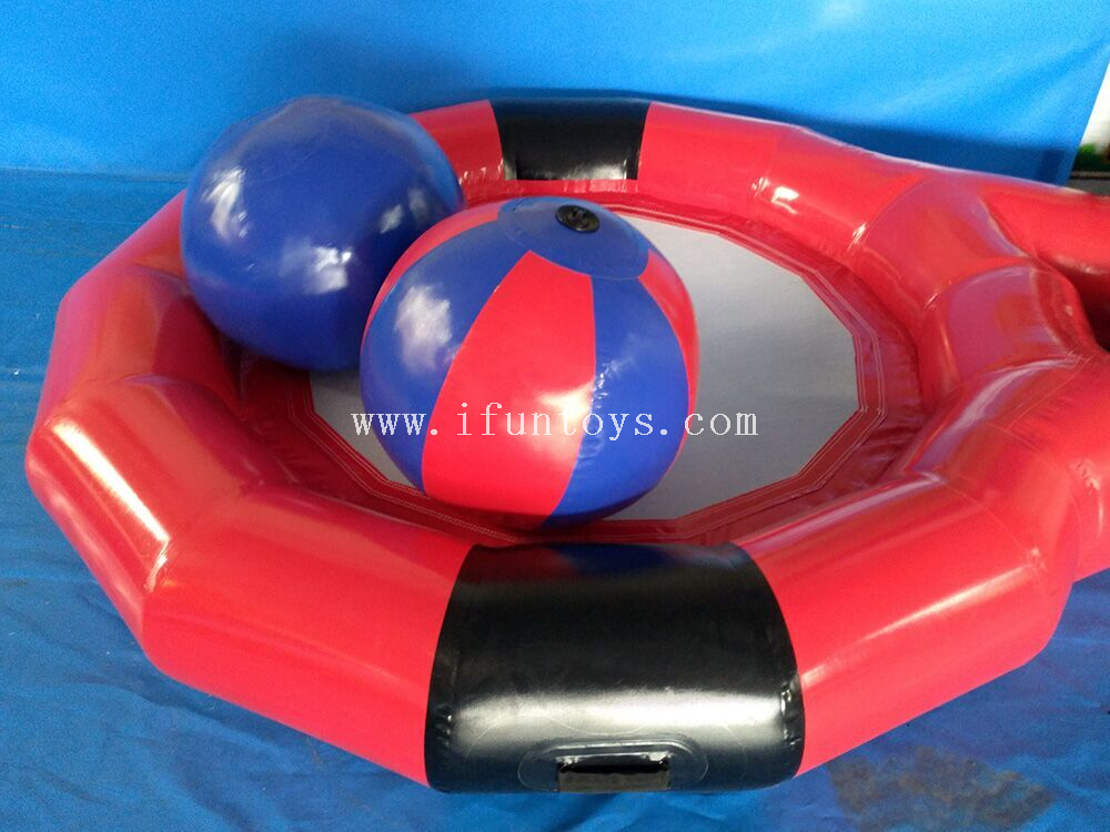 New popular giant advertising inflatable tennis racket for team building game