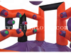 Outdoor Interactive Inflatable Playsystem Challenging Game/IPS Inflatable Light Battle Arena Battle Lights Challenging Game