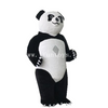 Lovely activity advertising inflatable panda cartoon model /Inflatable walking plush panda mascot costumes for performance