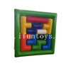 Giant Inflatable Tetris Game / Jigsaw Puzzle Game / Classic Blocks Inflatable Colorful Tangram for Team Building