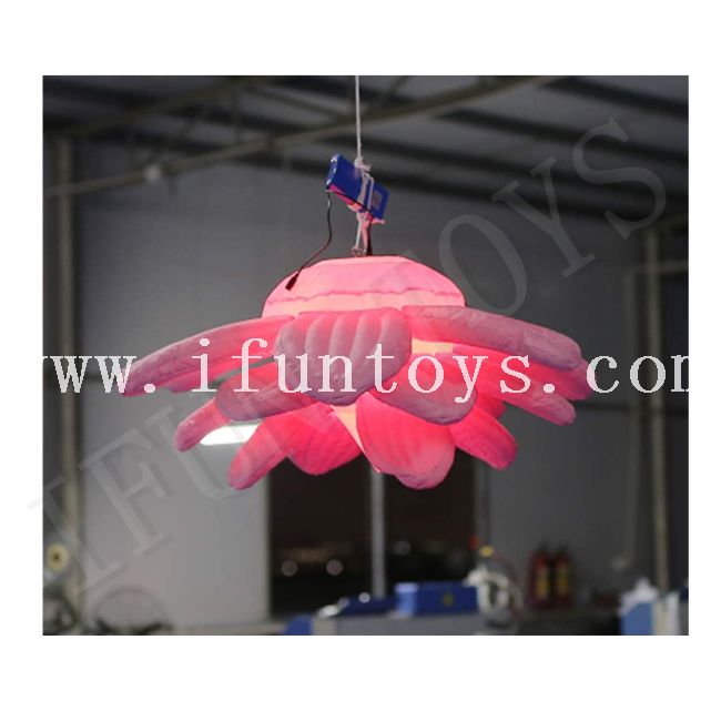 LED Inflatable Sunflower / Hanging Flower Light for Party Decoration