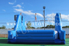 Interactive Inflatable Tight-rope Walk with Safe Air Bag / High Altitude Challenges for Amusement Park