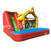 Backyard Inflatable Water Park / Water Slide with Pool for Kids