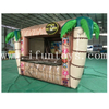 Tropical Theme Inflatable Food Booth / Inflatable Tiki Bar Tent / Inflatable Food Drink Concession for Outdoor Event
