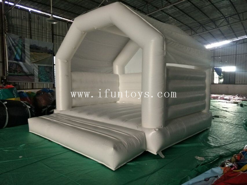 Most Popular Inflatable Bridal Bounce House/inflatable Wedding Jumping bouncer/Inflatable Wedding Bouncy Castle for Sale