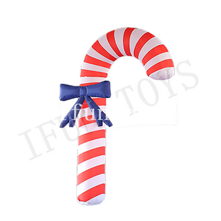 Christmas Decoration Inflatable Walking Sticks / Candy Cane Stick
