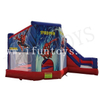 Inflatable Spider Man Bouncy Castle Combo with Slide