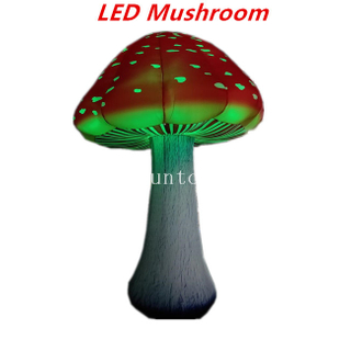 3meters Tall Giant Inflatable LED Mushroom Decoration for Party/ Event /Wedding