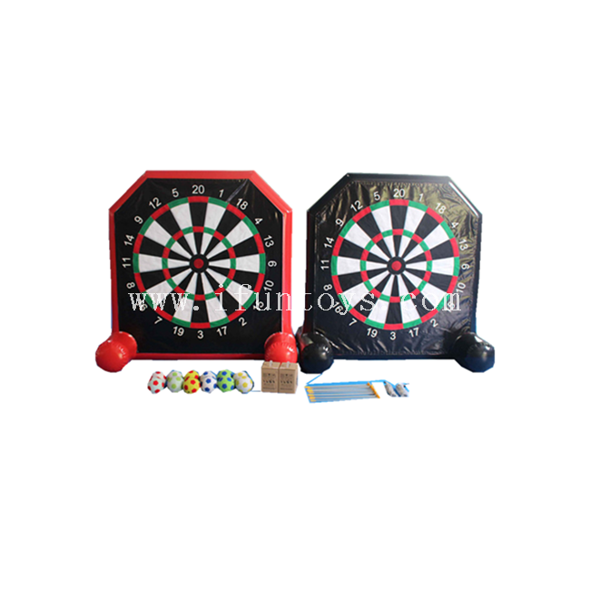 Cheap Football Inflatable Dart Board / Inflatable Kick Soccer Dart Games / Inflatable Dart Board Game for Kids