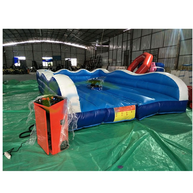 Inflatable Surfing Simulator Game/ Mechanical Surfboard/ Inflatable Surf Machine With Mattress