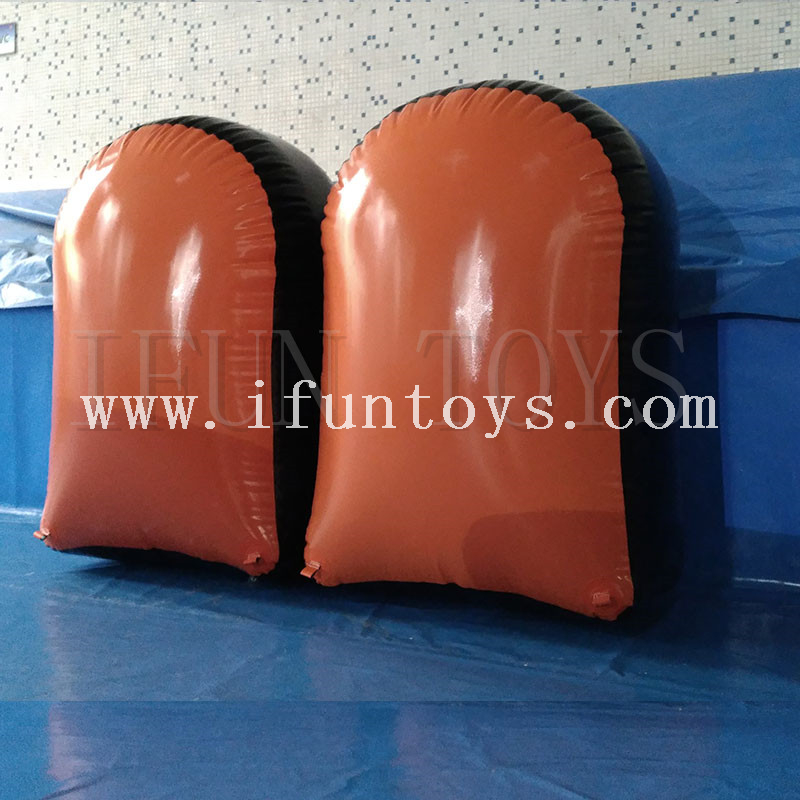 Portable Inflatable Paintball Bunker Sets/ Inflatable Bunker Paintball Equipment/Inflatable Air soft Bunker Set for shooting game