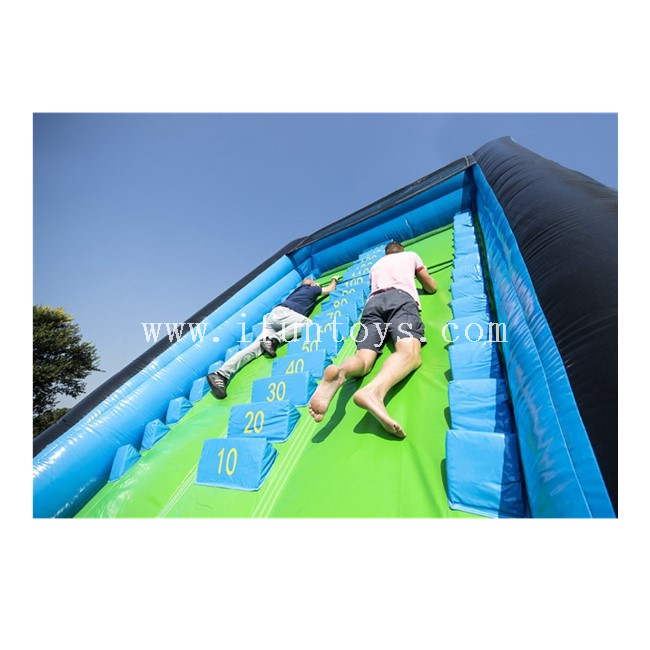 Interactive Inflatable Pull Up Ladder for Fitness /Inflatable Sport Challenge Game/Pull Up Ladder Inflatable Climbing Game