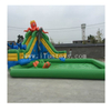 Cheap Inflatable Water Park Games /Inflatable Ground Pool Water Slide for Kids And Adults