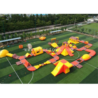 China Inflatable aqua park factory floating water park toys manufacturer water games supplier