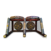 Inflatable Axe Throwing with 2 Players/Axe Throwing Inflatable Challenge Game/ Inflatable Axe Toss Sport Games for Kids And Adults