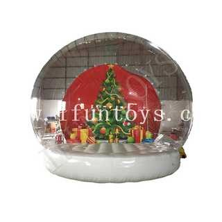 Christmas Decoration Inflatable Human Size Snow Globe Tent for Sale
